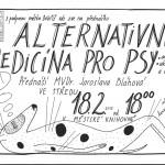 alt.medicína pro psy - plakát